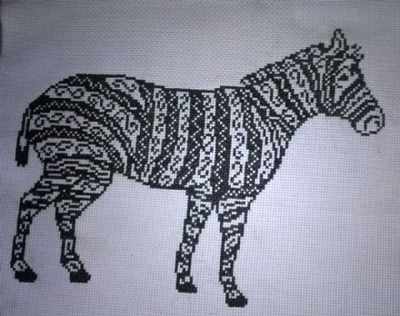 Tribal Zebra